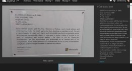 SkyDrive ofrece tecnología OCR en fotos