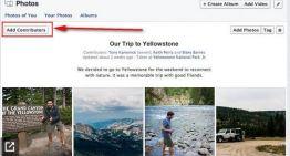 Facebook introduce los álbumes de imágenes colaborativos