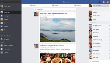 Facebook presenta su aplicación oficial para Windows 8.1