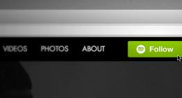 Spotify presenta el botón Follow