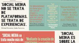 Infografía: 16 grandes frases sobre redes sociales