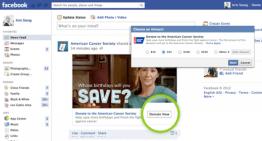 """Facebook presenta el botón """"Donar"""""""