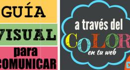 Infografía: Qué comunican los distintos colores en una publicación web