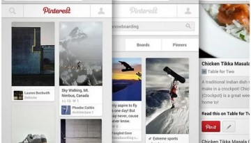 Pinterest rediseña su sitio para dispositivos móviles