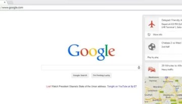 Google Now arriba a Chrome para escritorio