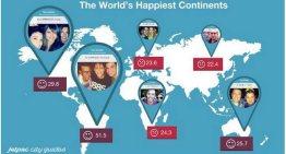 Los países más felices de acuerdo a Instagram