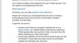 Twitter cambia por error las contraseñas de miles de usuarios