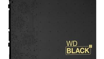 WD Black²: Primer disco duro dual del mundo ya disponible en México