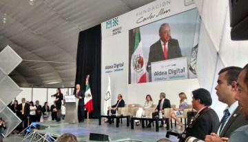 Inauguración de Aldea Digital Telcel Infinitum