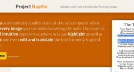 Project Naptha: extensión para Google Chrome para realizar OCR de imágenes