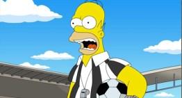 Homero Simpson se convierte en árbitro de la final de la Copa Mundial Río 2014