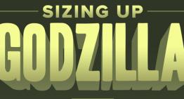 Infografía: Los tamaños de Godzilla en los últimos 60 años