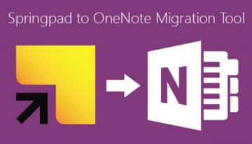 Microsoft OneNote anuncia su extensión para Chrome y su herramienta de migración para usuarios de Springpad