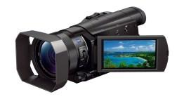 Llega a México la nueva Handycam 4K FDR-AX100