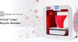 EKOCYCLE Cube 3D Printer, impresora 3D a base de botellas plásticas
