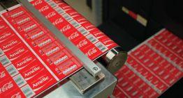 Comparte una Coca-Cola: Campaña optimizada por HP Indigo