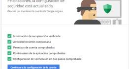 Google agrega una nueva sección en la pestaña de seguridad de configuración de la cuenta