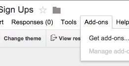 Google presenta complementos (Add-ons) para Google Forms