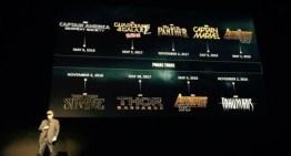 Marvel anuncia la serie de películas que se estrenaran en los próximos años