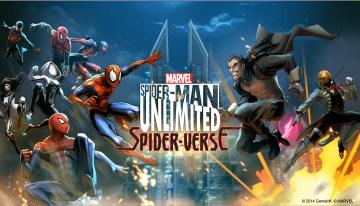 Spider-man Unlimited estrena increíble actualización que agrega los personales de Spider-Verse