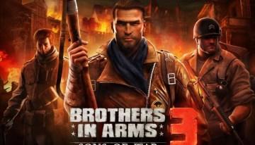 Brothers in Arms 3 llega a los smartphones para revivir la segunda guerra mundial
