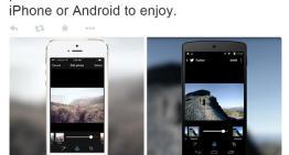 Twitter agrega más filtros para fotografías en sus apps móviles para iOS y Android
