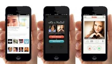 Tinder prueba un botón para compartir contactos