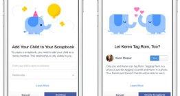 Scrapbooks: la herramienta de Facebook para organizar las imágenes de los niños