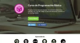 Abren nuevos cursos en línea de programación para principiantes