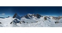 Con 48 TB peso, la mayor foto panorámica ya tomada en una montaña