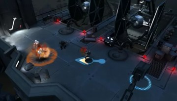 El juego Star Wars: Uprising, cuenta con un estilo de juego que asemeja a Diablo