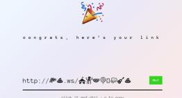 Linkmoji, convierte tu dirección URL en emojis