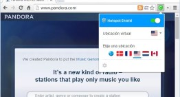 Hotspot Shield, lanza extensiones web para Chrome y Firefox