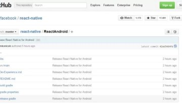 Facebook hace publico el código de React Native para Android