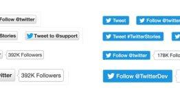 Twitter renueva los botones Tweet y Follow
