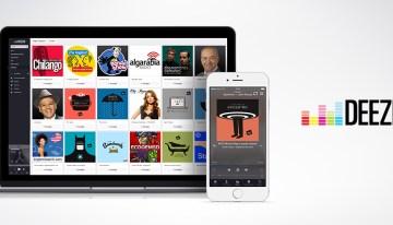 Deezer expande su oferta global de audio con más de 40,000 programas de radio y podcasts