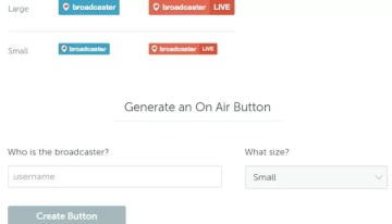 Nuevo botón de Periscope indica cuando se realiza una transmisión en vivo