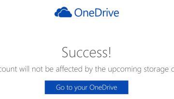Microsoft ofrece una alternativa para no perder el espacio de almacenamiento en OneDrive