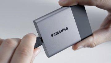 Nueva generación de discos duros portables SSD de Samsung alcanza los 2TB #CES2016