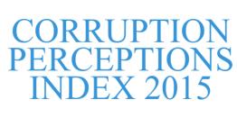 Mapa mundial interactivo del nivel actual de corrupción