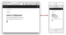 cntrlc.me, herramienta para copiar textos entre dispositivos