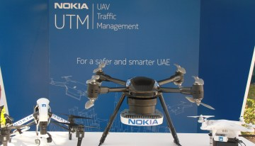 Nokia presenta tecnología para el control aéreo de drones