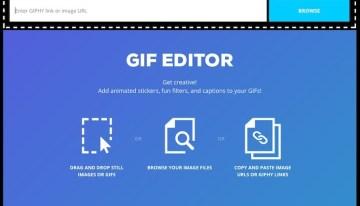GIF Editor, una nueva herramienta para editar gifs animados