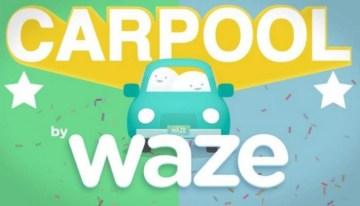 Carpool by Waze, la propuesta de Google para competir en el segmento del transporte urbano de pasajeros