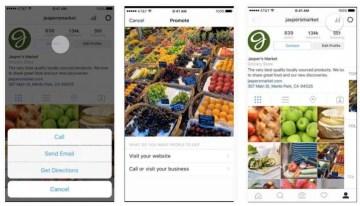 Instagram presenta oficialmente sus perfiles de negocios