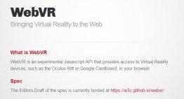 Con la tecnología WebVR, Google quiere que cualquier web sea navegable por realidad virtual