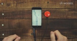 Mogees Play, el dispositivo que transforma objetos en instrumentos musicales