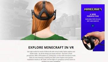 Minecraft celebra un año en Windows 10 con el anuncio de su versión para Oculus Rift