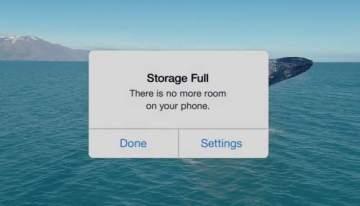 Nuevo anuncio de Google se burla de la capacidad del iPhone de 16GB