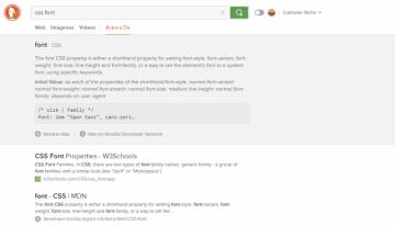 DuckDuckGo ya cuenta con ayudas rápidas para programadores